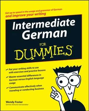 Intermediate German For Dummies