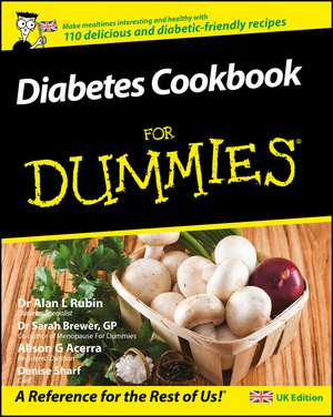 Diabetes Cookbook For Dummies de Alan L. Rubin