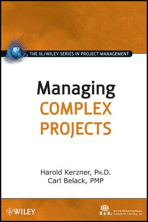 Managing Complex Projects imagine