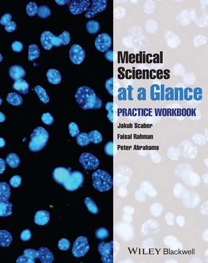 Medical Sciences at a Glance: Practice Workbook de Jakub Scaber