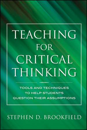 Teaching for Critical Thinking imagine