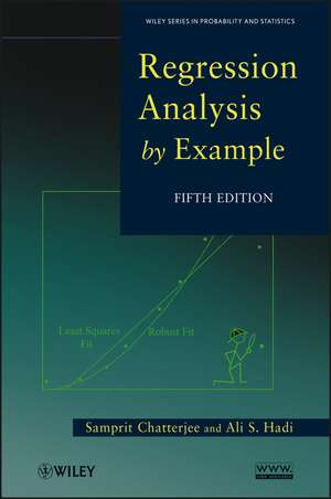 Regression Analysis by Example de Samprit Chatterjee