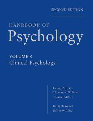 Handbook of Psychology, Clinical Psychology