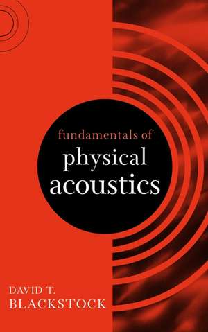 Fundamentals of Physical Acoustics imagine