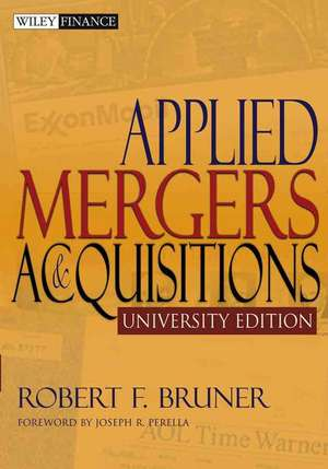 Applied Mergers and Acquisitions imagine