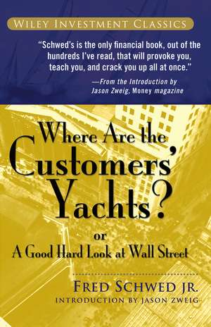 Where Are the Customers′ Yachts? imagine