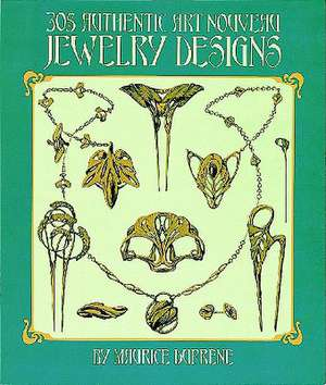 The 305 Authentic Art Nouveau Jewelry Designs imagine