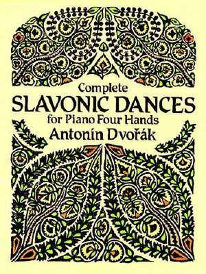 Complete Slavonic Dances for Piano Four Hands de Antonin Dvorak