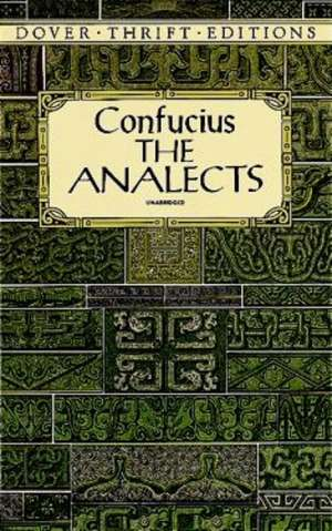 The Analects de Confucius