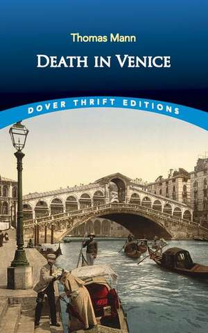 Death in Venice de Thomas Mann
