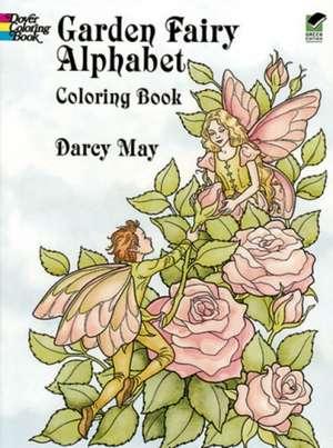 Garden Fairy Alphabet Coloring Book imagine