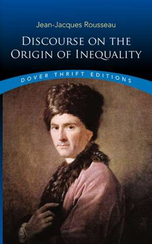 Discourse on the Origin of Inequality de Jean Jacques Rousseau