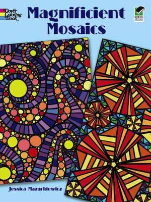 Magnificent Mosaics Coloring Book