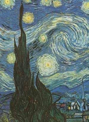 Van Gogh's Starry Night Notebook de Vincent Van Gogh