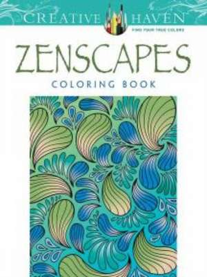 Creative Haven Zenscapes Coloring Book