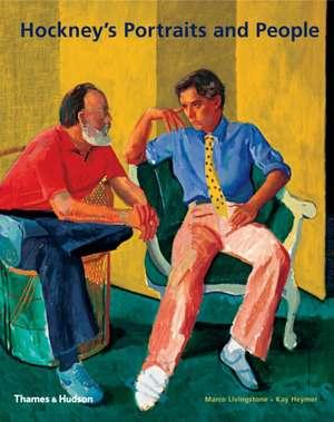 Hockney's Portraits and People de Marco Livingstone
