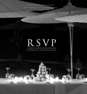 RSVP de Marie France Van Damme