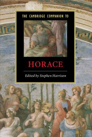 The Cambridge Companion to Horace