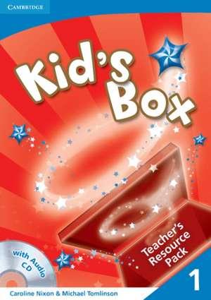 Kid's Box 1 Teacher's Resource Pack with Audio CD de Caroline Nixon