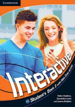 Interactive Level 3 Student's Book with Online Content de Helen Hadkins
