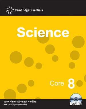 Cambridge Essentials Science Core 8 with CD-ROM