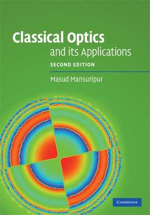 Classical Optics and its Applications imagine