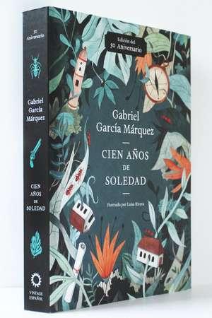 Cien Años de Soledad (50 Aniversario): Illustrated Fiftieth Anniversary Edition of One Hundred Years of Solitude de Gabriel Garcia Marquez