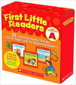 First Little Readers:  25 Irresistible Books That Are Just the Right Level for Beginning Readers de Deborah Schecter