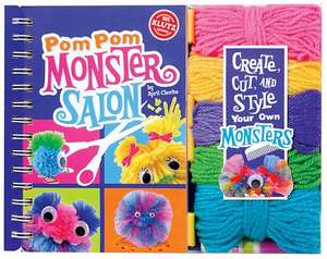 Klutz: Pom-Pom Monster Salon de April Chorba