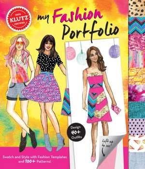 My Fashion Portfolio:  8x8) de Editors of Klutz