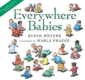 Everywhere Babies lap board book