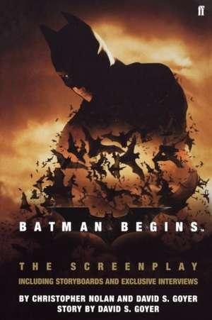 Batman Begins:  The Screenplay de Christopher Nolan