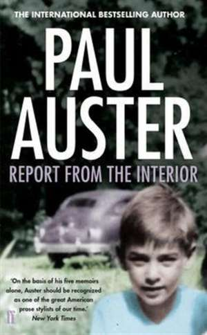 Report from the Interior de Paul Auster