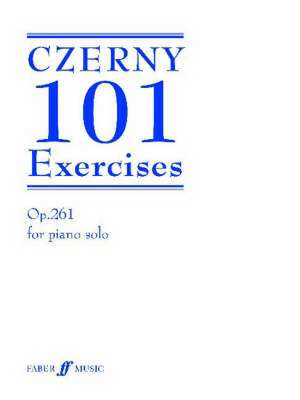 101 Exercises de Carl Czerny