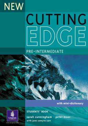 Cutting Edge Pre-Intermediate New Editions Course Book