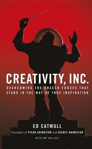 Catmull, E: Creativity, Inc. imagine