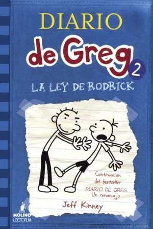La Ley de Rodrick (Rodrick Rules) de Jeff Kinney