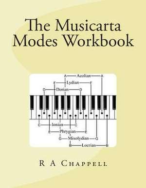 Musicarta Modes Workbook de R. a. Chappell