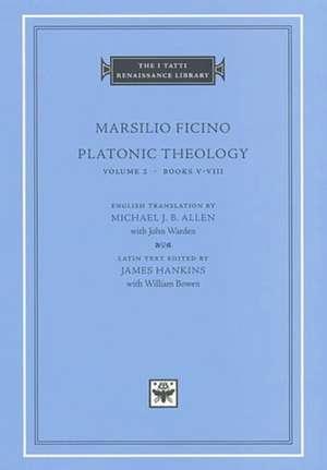 Platonic Theology, Volume 2 – Books V–VIII (S) imagine