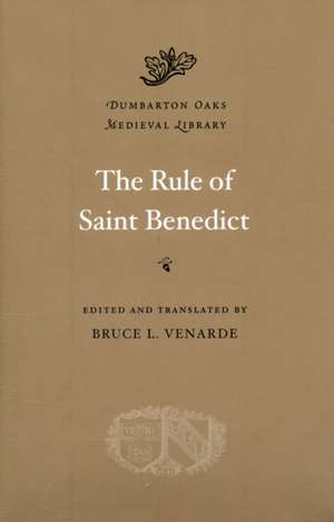 Rule of Saint Benedict imagine