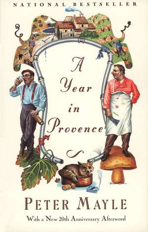 A Year in Provence de Peter Mayle