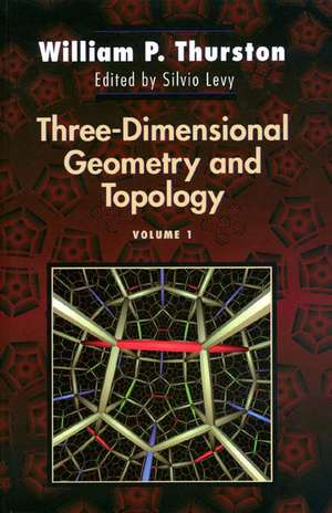 Three–Dimensional Geometry and Topology, Volume 1 imagine