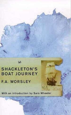 Shackleton's Boat Journey imagine