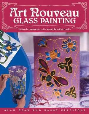 Art Nouveau Glass Painting de Alan D. Gear