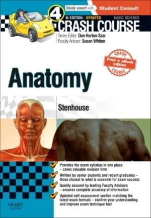Crash Course Anatomy Updated Print + eBook edition