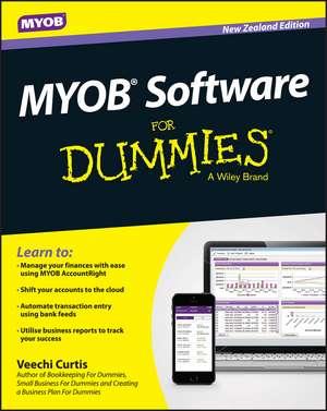 MYOB Software For Dummies – NZ