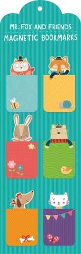 Semne de carte magnetice Mr. Fox and Friend de Peppercloth