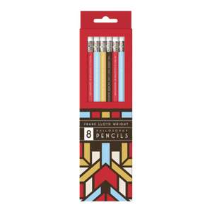 Frank Lloyd Wright Pencil Set de Galison