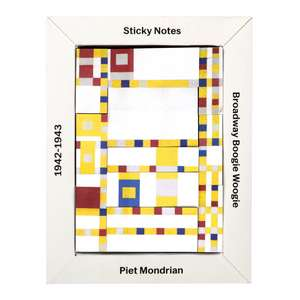Mondrian Sticky Notes Box de Galison