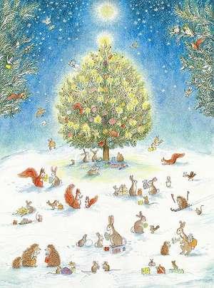 A Woodland Christmas Advent Calendar de Bernadette Watts